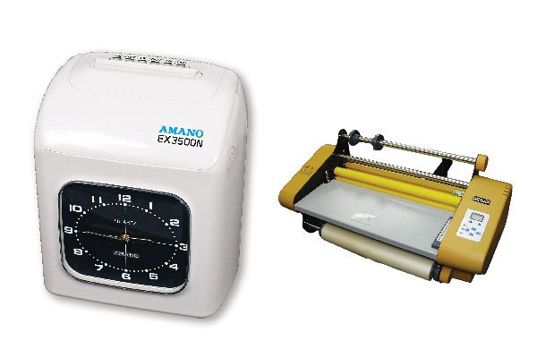 Time Recorder / Laminator