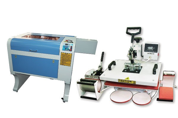 Heat Transfer Machine / PVC Card Cutting / Engraring